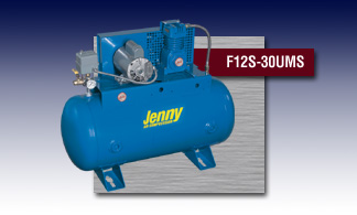 Jenny Fire Sprinkler Air Compressor - Model F12S-30UMS