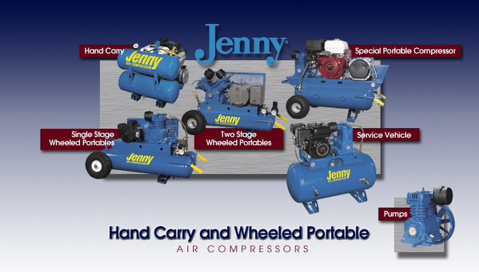 Jenny Portable Air Compressors